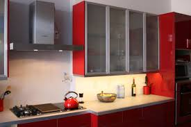 kitchen renovation paint wallpaper jenna burger choosing a color indian kitchen decoration colormob wonderful red cabinets design ideas with shiny modern interior appealing frosted glass
