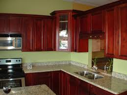 Kitchen Cabinets Mahogany Amusing White Color Small Kitchen Cabinets Come With Wall Mounted
