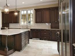 Kitchen Color Ideas With Cherry Cabinets Classic Dark Cherry Kitchen With Large Island Www Prasadakitchens