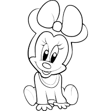 minnie mouse coloring pages getcoloringpages com