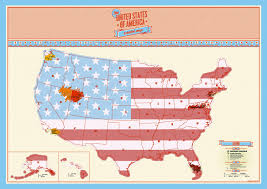 Large Map Of Usa by Usa Scratch Map Track Your Travels With The Large Scratch Off Map