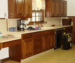Oak Kitchen Cabinets Refinishing Wood And Painted Kitchen Cuboards Amazing Deluxe Home Design