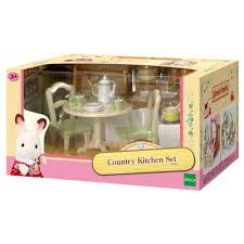 sylvanian families country kitchen set 24 00 hamleys for
