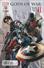 Gods Of War by Image Civil War Ii Gods Of War Vol 1 4 Captain America 75th