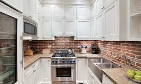 kitchen brick kitchen backsplash ideas brick backsplash pros and
