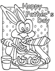 Fathers Day Coloring Pages For Kids Really Nice When Blend In ...
