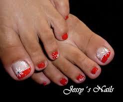uñas navideñas para pies uñas pies navidad nailart uñas