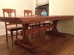 Farm Dining Room Table Ana White Double Pedestal Farmhouse Table 8 Feet Diy Projects