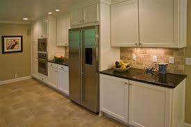 Dark And White Kitchen Cabinets Kitchen Backsplashes With White Cabinets Recessed Lighting And