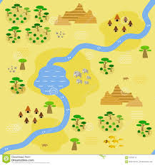 Blank Park Zoo Map by Flat Design Zoo Map Stock Vector Image 48940694
