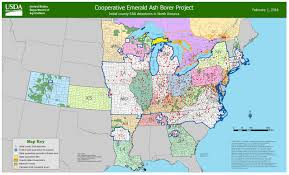 Us Map Michigan by Only 3 Michigan Counties Left Outside Emerald Ash Borer Quarantine