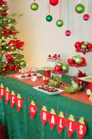 christmas christmas party table decorations on budgetchristmas