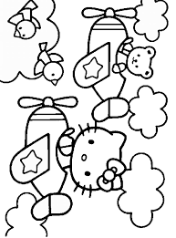 hello kitty coloring pages u2013 birthday printable