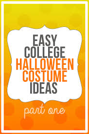 Halloween Costume Ideas For College Students Easy Costumes For College Student Archives Eyeliner Wings