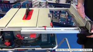 Bosch Table Saw Parts by Bosch Table Saw 4100 09 Unbiased Review 2013 Youtube