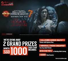 100 halloween horror nights tickets surviving universal
