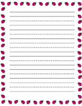 Printable Writing Paper With Lines  responsive writing