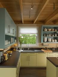 How To Remodel Old Kitchen Cabinets Painted Kitchen Cabinet Ideas Freshome