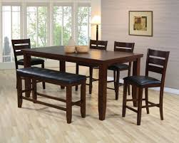 kitchen table with bench and chairs home and interior