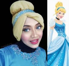 Halloween Barbie Makeup by This Halloween Qween Uses Her Hijab To Transform Into Every Disney