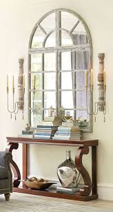 White Entryway Table by 18 Entryways With Captivating Mirrors