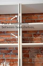 Ikea Bookshelves Built In by Best 25 Billy Bookcase Hack Ideas On Pinterest Ikea Billy Hack