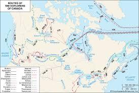 Canada  routes of exploration    Kids Encyclopedia   Children     s     Kids Britannica
