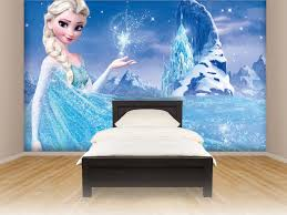minimalist girls bedroom with disney u0027s frozen decor