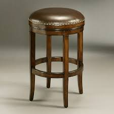 leather saddle bar stools furniture tufted leather bar stool backless counter height
