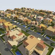 House 3d Model Free Download by Lowpoly Villa 3d Model Cgstudio