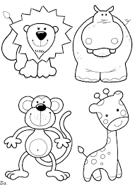 zoo animals coloring pages animal coloring sheets gianfreda net