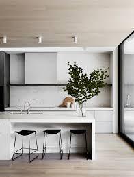 modern kitchen sleek kitchen minimal kitchen black and white