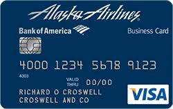 Barclays Credit Card Business Alaska Airlines Visa Business Credit Card From Bank Of America