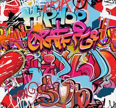 hip hop graffiti wallpaper wall mural wallsauce usa hip hop graffiti wall mural photo wallpaper