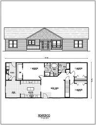 ranch home floor plans with walkout basement webshoz com