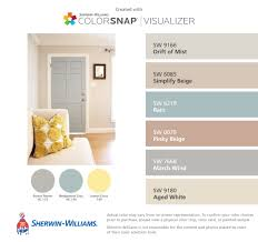 Sherwin Williams Interior Paint Colors by I Found These Colors With Colorsnap Visualizer For Iphone By