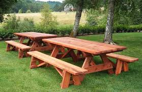 Free Wooden Picnic Table Plans by Lynnjium U0027s Soup