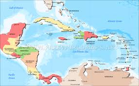 Physical Map Of South America by Central America Physical Map U2013 Freeworldmaps Net