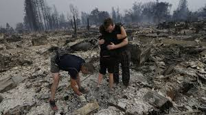 Willow Wildfire California by California Wildfires Leave Apocalyptic Scenes In Wine Country