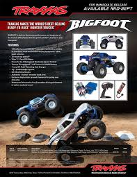 racing monster trucks news u2013 new traxxas bigfoot r c monster trucks bigfoot 4 4 inc