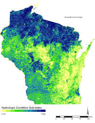 Hydrology Map Healthy Watersheds Assessments Watersheds U0026 Basins Wisconsin Dnr