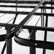 Mattress Foundation King Spa Sensations Steel Smart Base Bed Frame Black Multiple Sizes