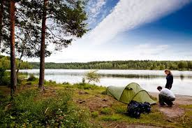 The dating app that     s connecting outdoor enthusiasts   GrindTV com Not everyone likes roughing it  It     s nice to find someone who can share your smelly tent  Photo  Courtesy of LuvByrd