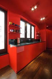 divine red kitchen decor ideas with red kitchen wall colors red