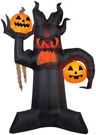 10 5 u0027 projection airblown kaleidoscope giant spooky tree halloween
