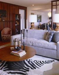 BrownGray Contemporary Family Room Living Room Design Ideas Lonny - Contemporary family room design