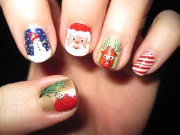 christmas nail art designs santa nail designs santa nail art pic