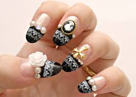 beautiful and attention seeking nail art designs latest fashion