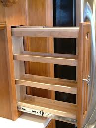kitchen cabinet spice rack pull out part 43 pull out spice rack
