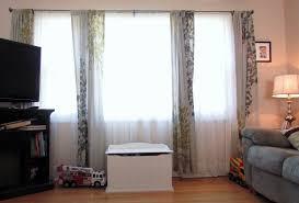 curtain styles for large windows interesting window curtain ideas